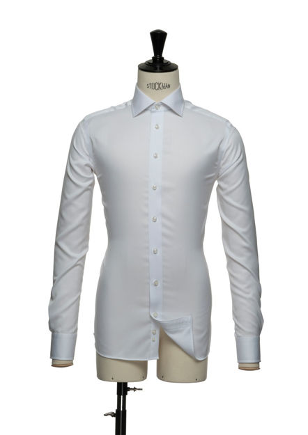 JH&F Green Bow 01 Regular Fit White 5XL