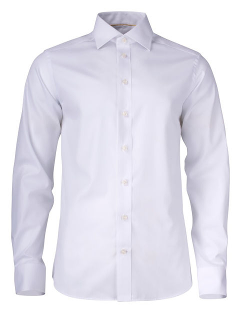 JH&F Yellow Bow 50 Slim Fit White S