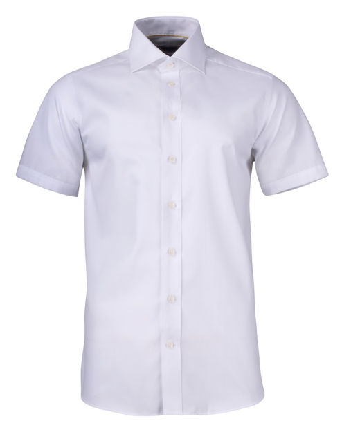 JH&F Yellow Bow 50 S/S Regular Fit White 4XL