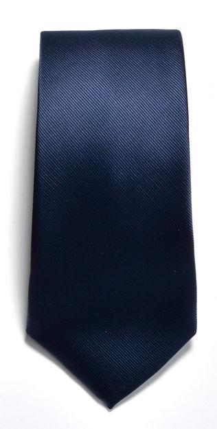 JH&F Tie Plain Navy 0