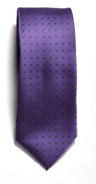 JH&F Tie Dot Purple/Navy 0