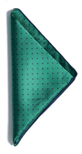 JH&F Handkerchief Green/Navy 0