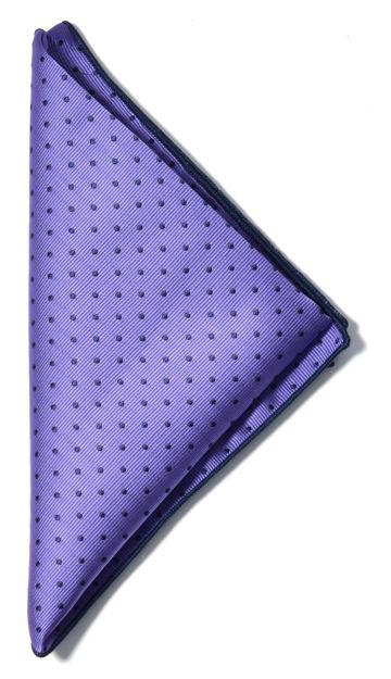 JH&F Handkerchief Purple/Navy 0