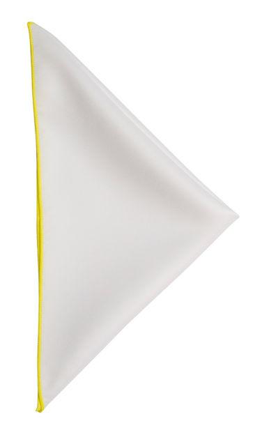 JH&F Handkerchief White/Yellow 0