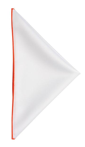 JH&F Handkerchief White/Orange 0