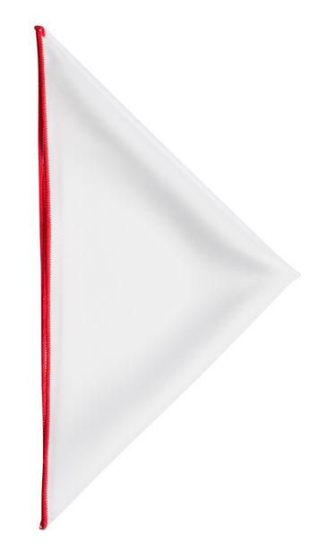 JH&F Handkerchief White/Red 0