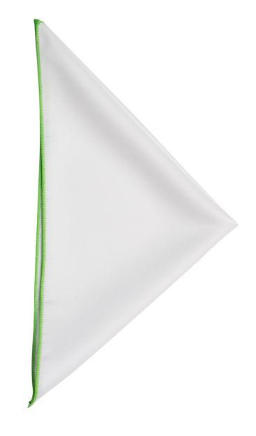 JH&F Handkerchief White/Spring Green 0