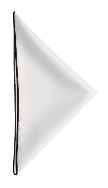 JH&F Handkerchief White/Black 0
