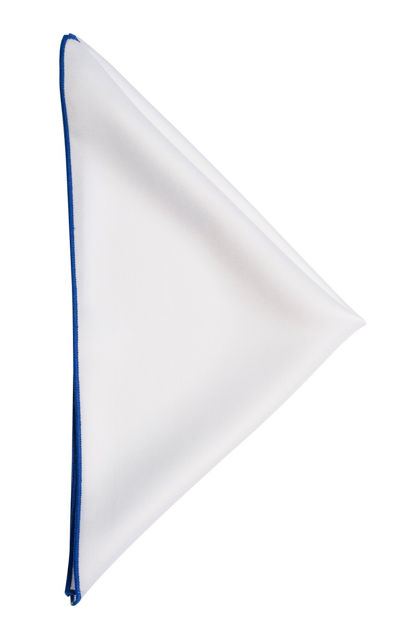 JH&F Handkerchief White/Blue 0
