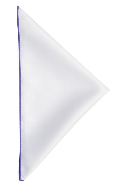 JH&F Handkerchief White/Light Purple 0