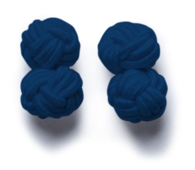 JH&F Cufflinks Navy Blue 0