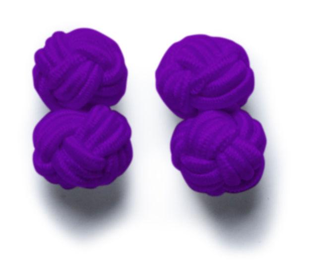 JH&F Cufflinks Purple 0