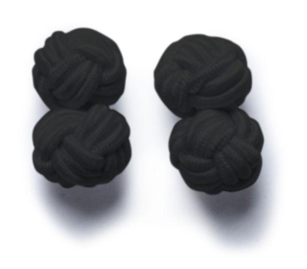 JH&F Cufflinks Black 0