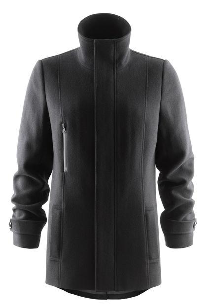 Hybrid Wool Coat Woman Black XS